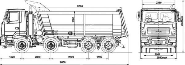 МАЗ 6516V8 523 000 3 купить