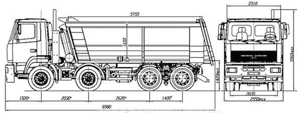 МАЗ 6516W8 420 000 3 купить