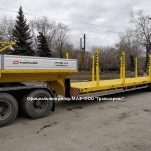 фото Hartung 40 тонн низкорамный