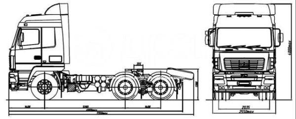 МАЗ 6430E9