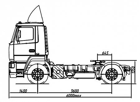 седельный тягач  МАЗ 544019 2422 030  купить  Хабаровск